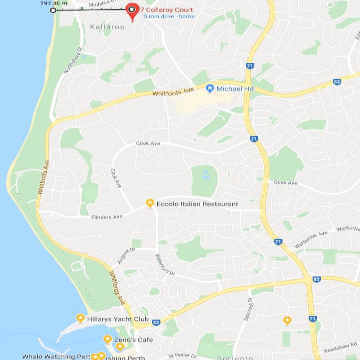 map location house sale Perth