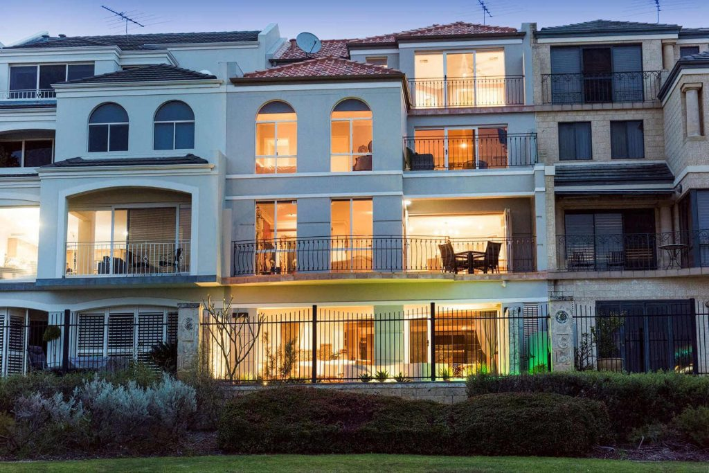 Luxury townhouse for sale Perth